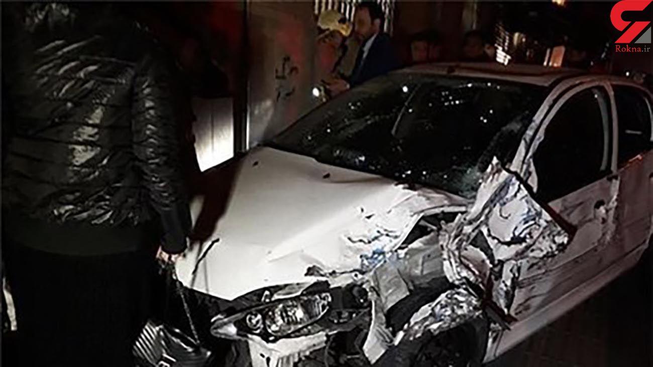 تصادف مرگبار با نیوجرسی در جاده هراز + عکس