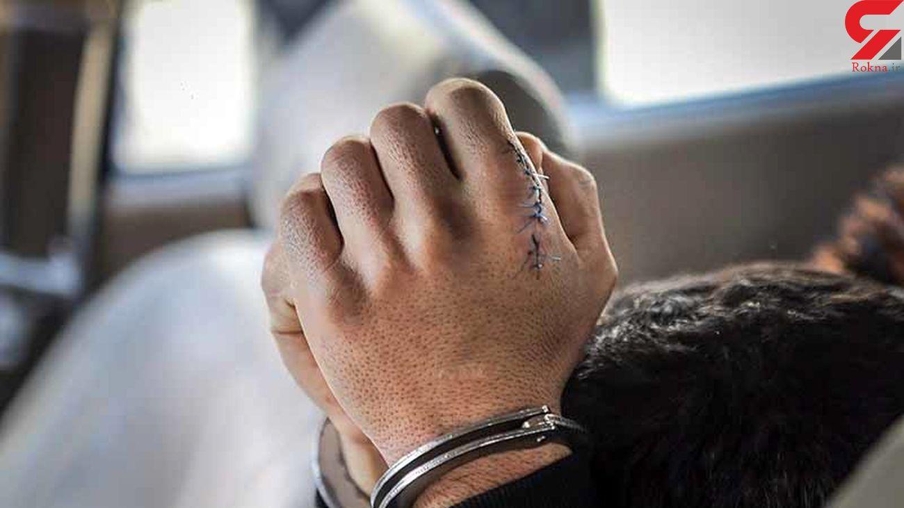 دستگیری سارقان سیم و کابل در بم
