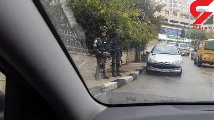 زیر گرفتن نظامیان اسرائیلی توسط یک فلسطینی+فیلم