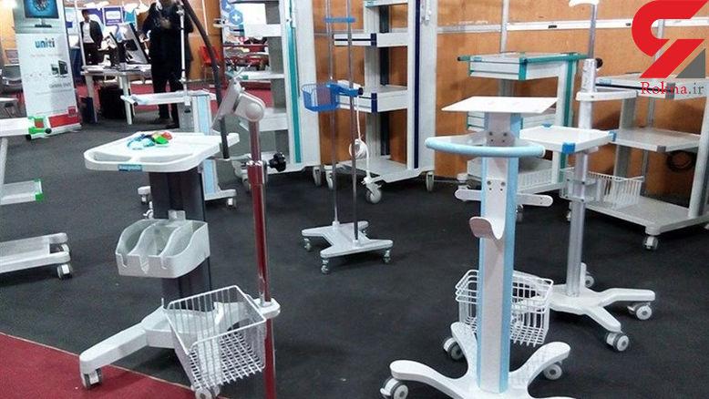 کشف انبار احتکار تجهیزات پزشکی در قزوین