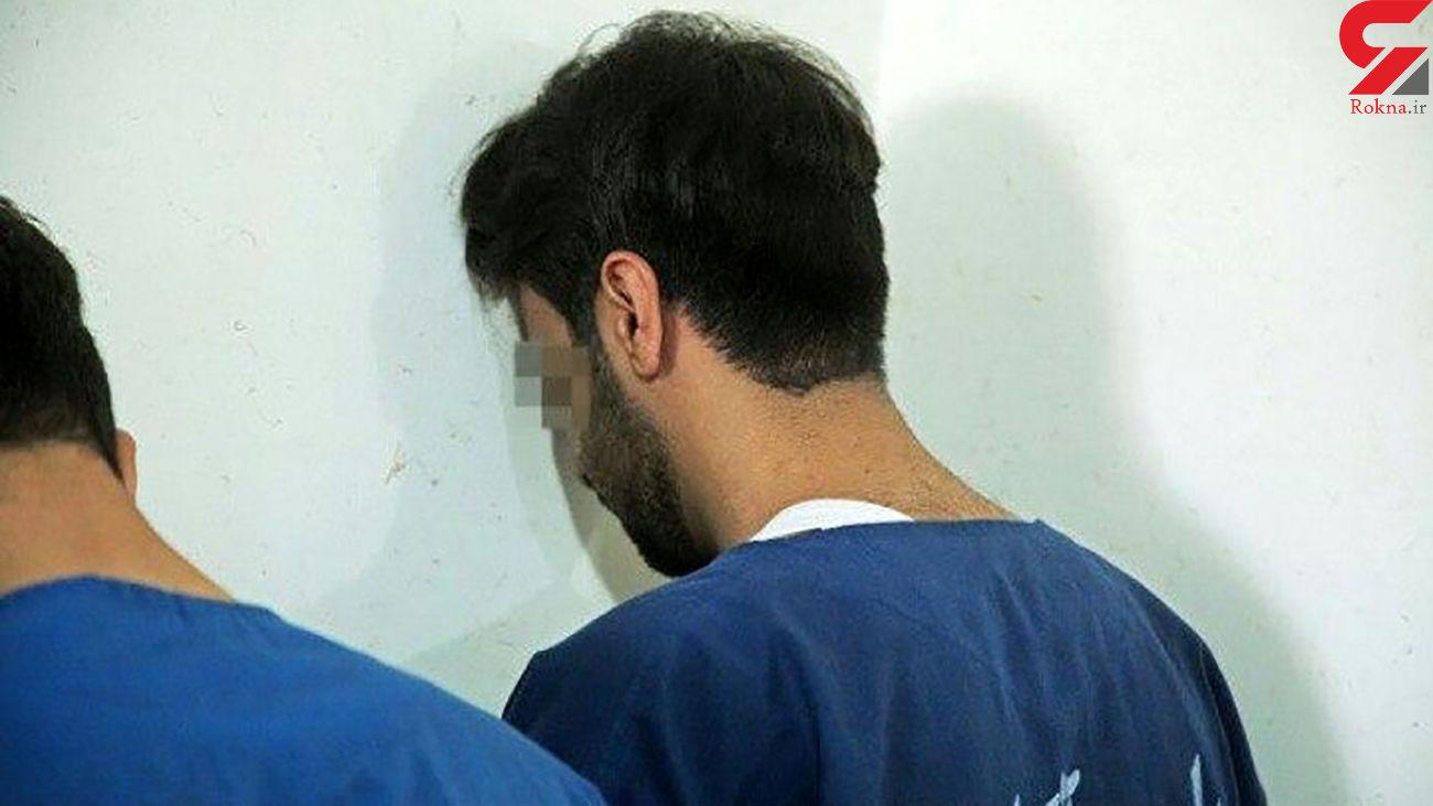 انهدام باند حرفه ای سرقت خودرو در کرمانشاه
