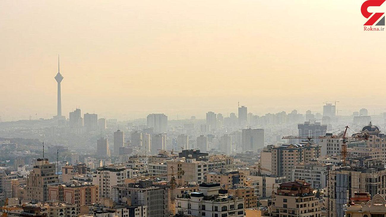 وضعیت آلودگی هوای پایتخت/ گروه های حساس در خانه بمانند