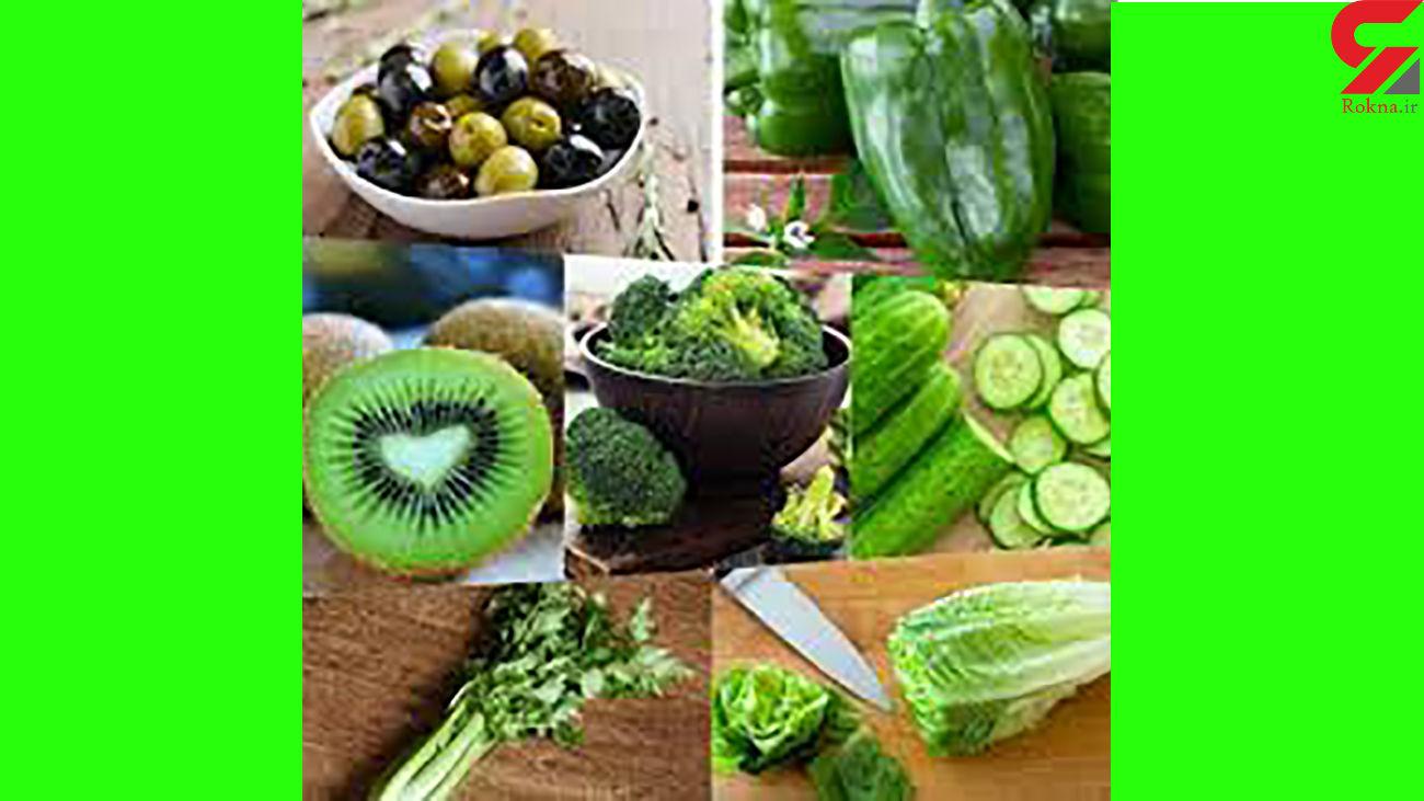 خوراکی های سبزی که باید همیشه بخورید