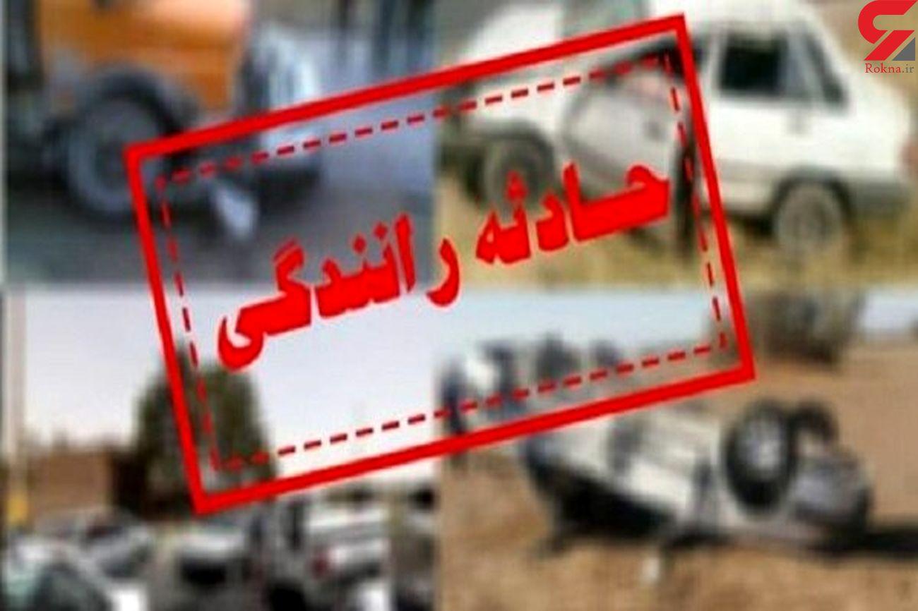تصادف خونین در تربت حیدریه با 6 مصدوم