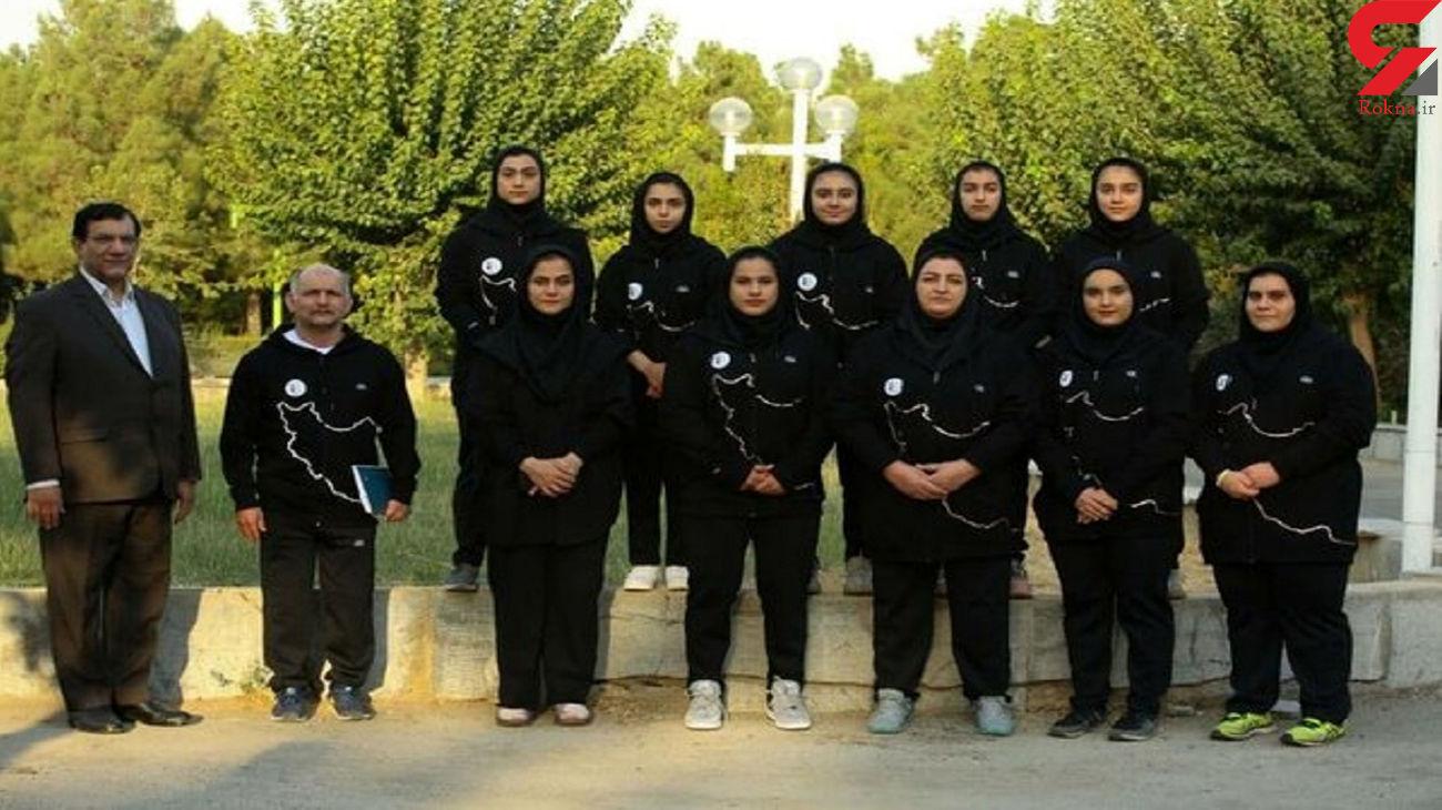 افتخارآفرینی دختران وزنه بردار ایران + عکس