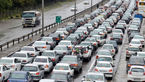 ترافیک نیمه سنگین در آزاد راه کرج- تهران و کرج-قزوین