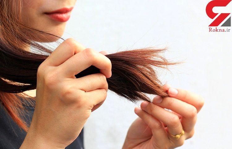 چرا موهای سر نازک می شوند؟