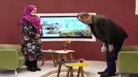 ترکیدن بغض خانم مجری و میهمان برنامه در آنتن زنده تلویزیونی+ فیلم