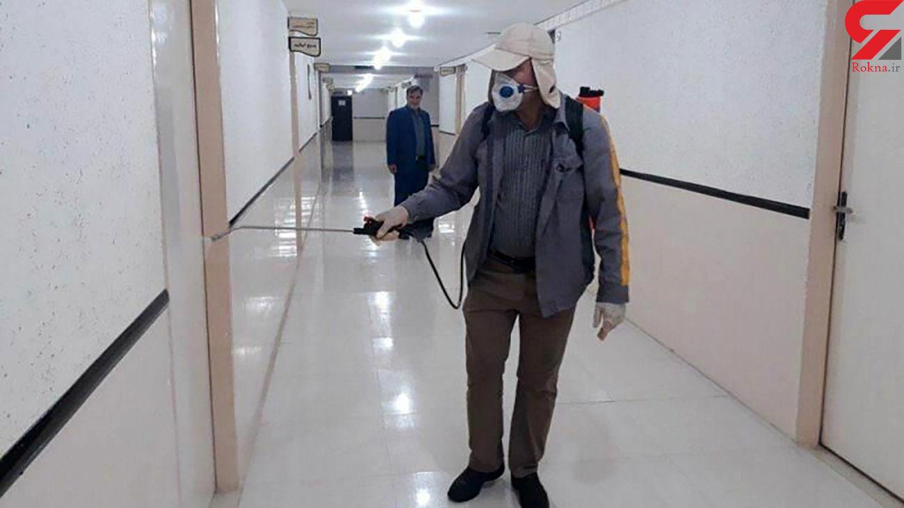 ضدعفونی حوزه های کنکور تهران توسط ۲۰۰ تیم شهرداری