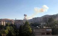 انفجار های مهیب پایتخت سوریه را لرزاند + عکس