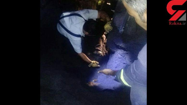 مرگ تلخ راننده معدن در گل گهر سیرجان + عکس