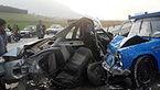 تصادف مرگبار پژو با نیسان در محور علی آبادکتول