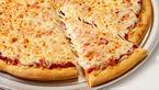 پیتزای پنیر خوشمزه و کم کالری با ریحان خرد شده+دستور تهیه