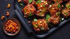 خوراک مرغ و بادام هندی + طرز تهیه