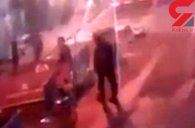 فیلم لحظه درگیری تروریست های لندنی با پلیس + فیلم