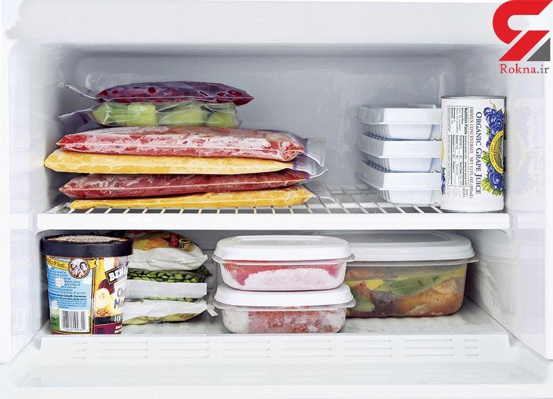 باید و نبایدهای نگهداری غذا در فریزر