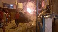 انفجار در مخزن گازوئیل یک نانوایی در بیروت