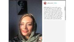 سلفی نورانی خانم بازیگر با طعم گلایه و تشکر!