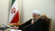 تماس تلفنی رئیس جمهور با وزیر کشور ، استاندار تهران و رئیس جمعیت هلال احمر ایران