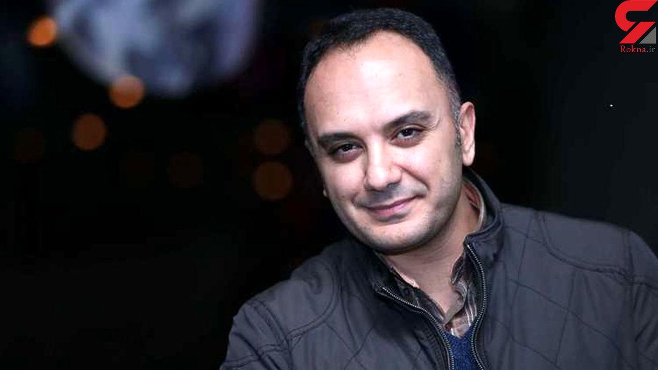 بلوز پر مفهوم و جالب مجری ممنوع التصویر و پسرش + عکس