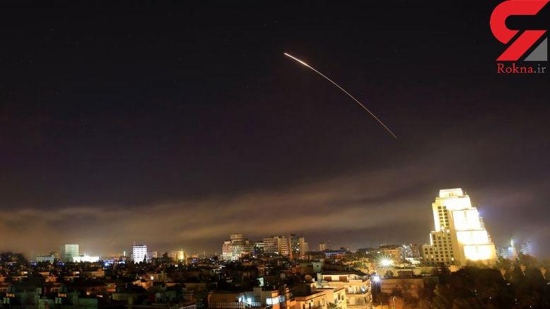 فیلم و عکس های حمله موشکی امریکا به سوریه + جزئیات