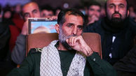 فرمانده سپاه حسین اسداللهی به یاران شهیدش پیوست + عکس