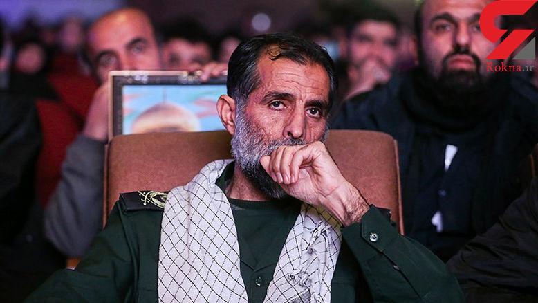 سردار سپاه حسین اسداللهی به یاران شهیدش پیوست + عکس