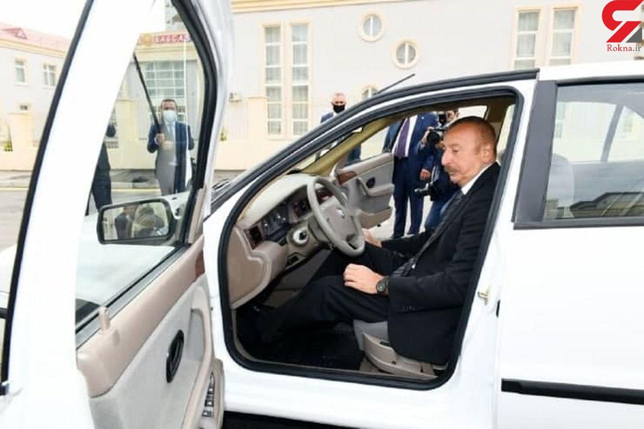 عکس یک خودروی جدید / تولید مشترک ایران و آذربایجان