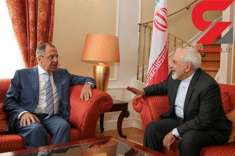 ظریف در دیدار با لاوروف: موضع رسمی روسیه درباره برجام برای ما بسیار امیدبخش است