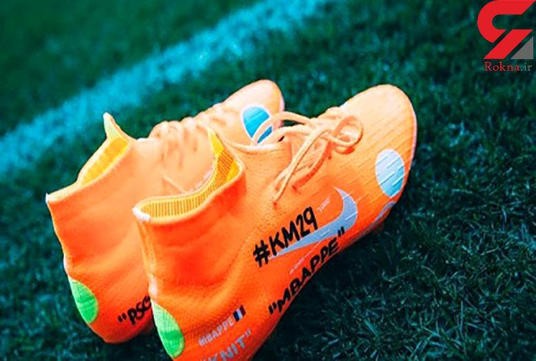عجیب ترین طرح روی کفش ستارگان فوتبال جهان + عکس