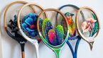 هنر بی نظیر و شگفت انگیز گلدوزی روی راکت تنیس +عکس