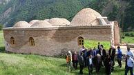 حمام تاریخی مریان در گیلان مرمت شد