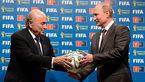دعوت پوتین از رییس سابق فیفا/ بلاتر: حتما به جام جهانی روسیه میروم
