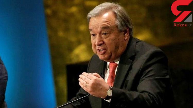 دبیرکل سازمان ملل خواستار آتشبس در سرتاسر جهان به علت کرونا شد