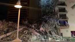 فیلم ریزش وحشتناک ساختمان 12 طبقه در فلوریدا