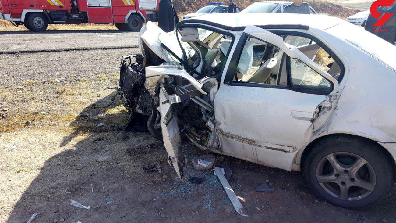 مرگ دلخراش مدیر سرشناس کهگیلویه ای در ماشین مچاله شده! + عکس