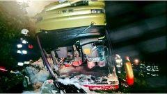 واژگونی اتوبوس در لهستان سه کشته برجای گذاشت