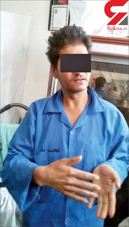 اعدام قاتل ندای 6 ساله مشهدی در ملاعام + عکس