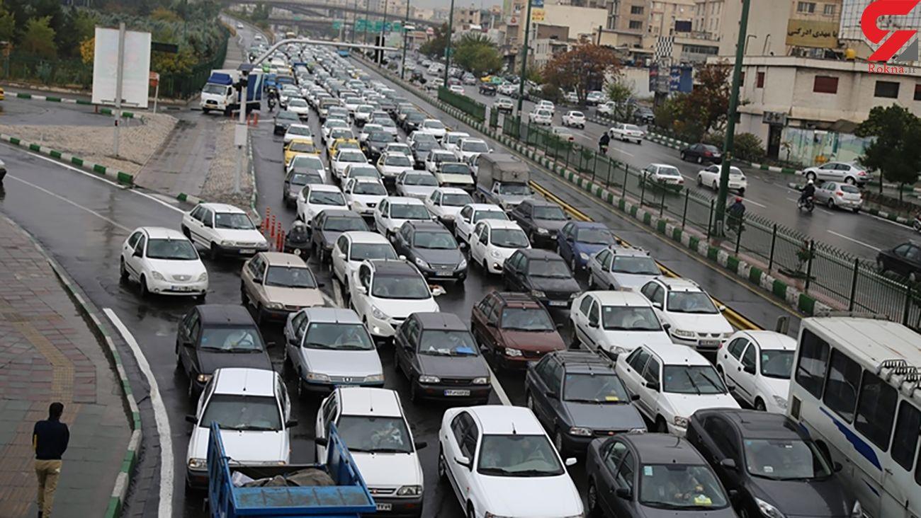 ماجرای ترافیک صبحگاهی در بزرگراه امام علی  ( ع ) چه بود ؟