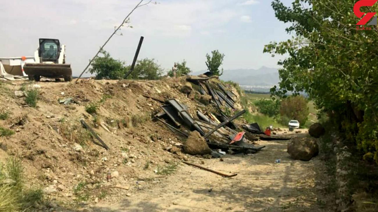 خطر ساخت و ساز در حریم و بستر رودخانه ها در شهر تهران