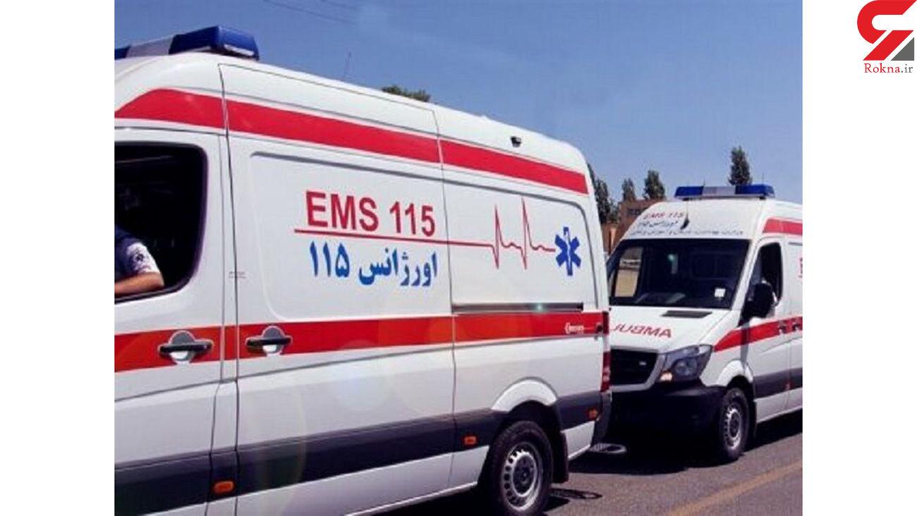 انتقال ۲۳ نفر از مصدومین تصادف قطار رشت - مشهد به بیمارستان