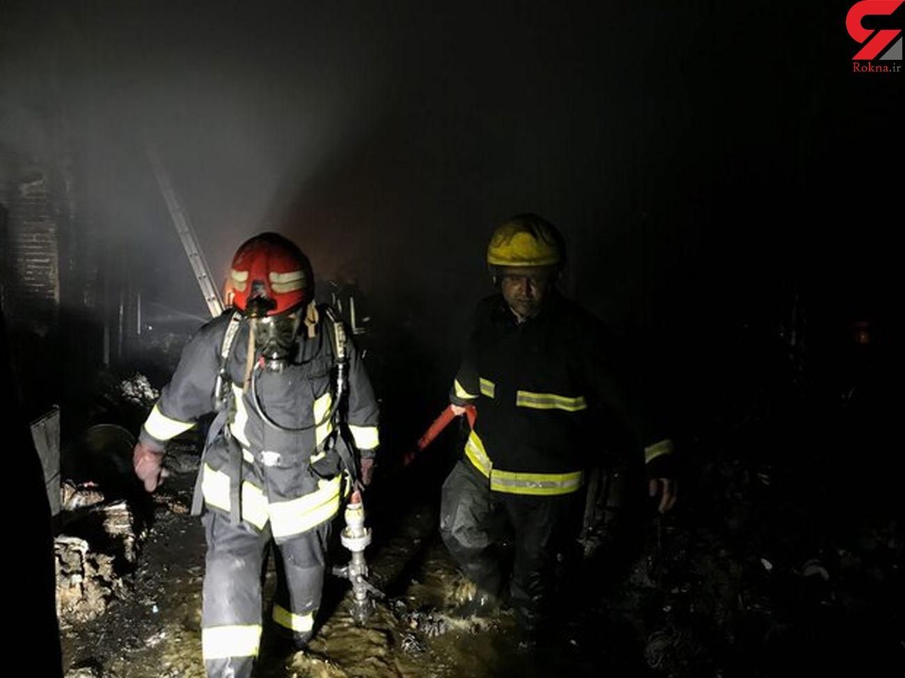 آتش سوزی مهیب در جایگاه شارژ سیلندرهای گاز مایع
