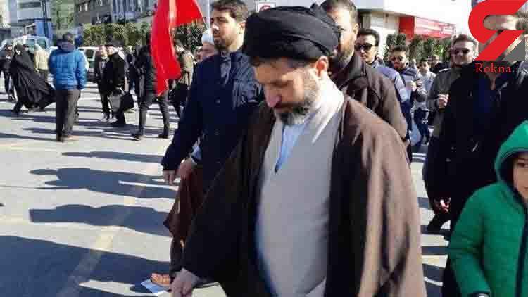 عکس / حضور فرزندان رهبر انقلاب در راهپیمایی ۲۲ بهمن