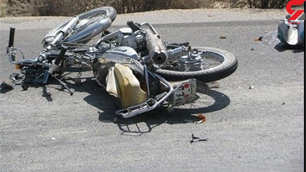 2 حادثه در پی هم در بجنورد! / کشف شیشه در اثر واژگونی موتورسیکلت