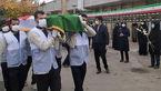 تشییع پیکر نخستین بانوی مدافع سلامت در اصفهان