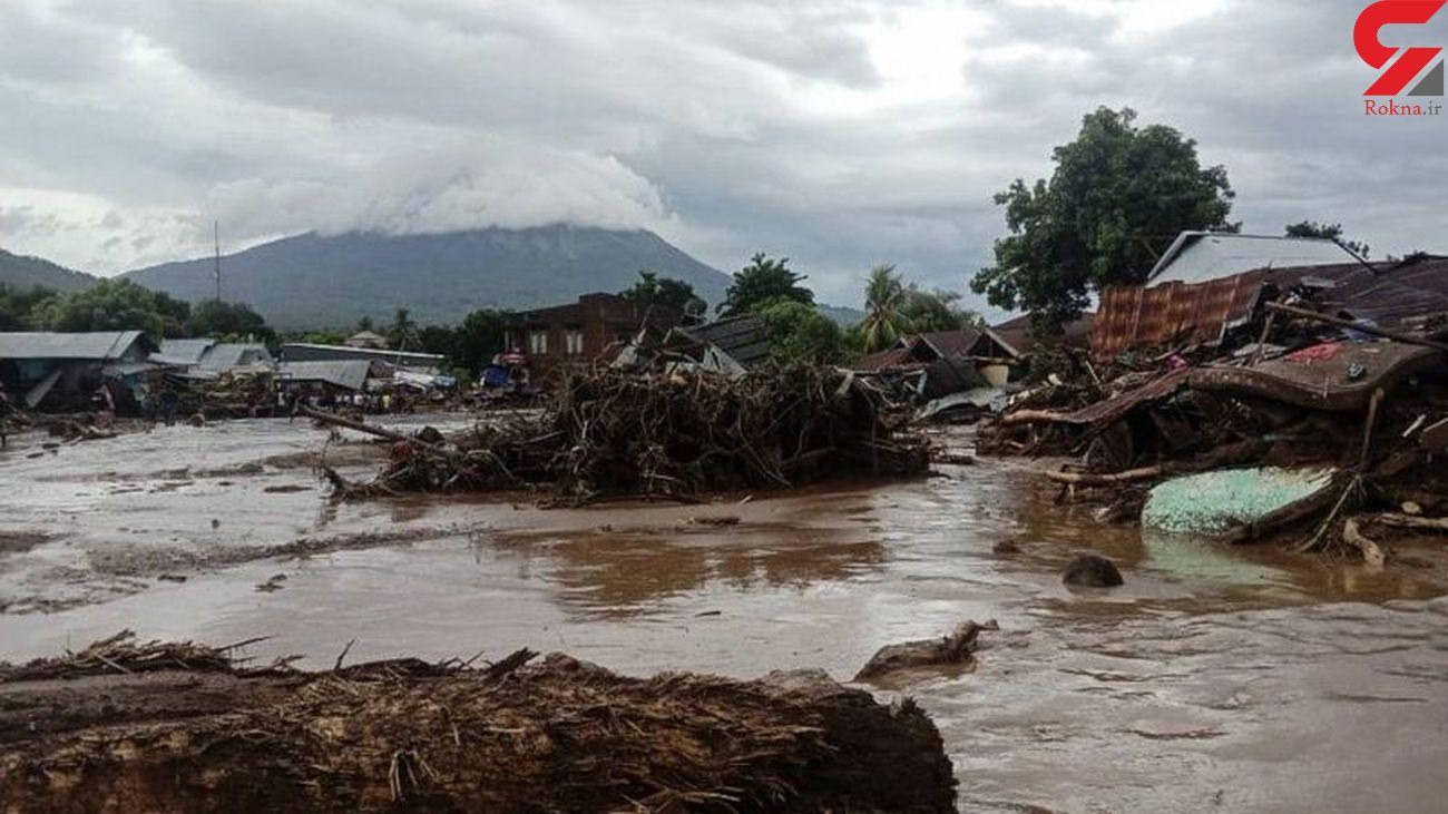 مرگ دست کم ۵۰ نفر در اثر باران های موسمی در اندونزی و تیمور شرقی
