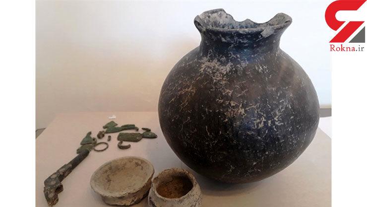 کوزه هزاره اول پیش از میلاد در بویراحمد کشف شد