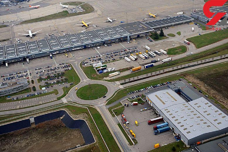 بازداشت فردی که با خودرو وارد باند فرودگاه لیون شده بود
