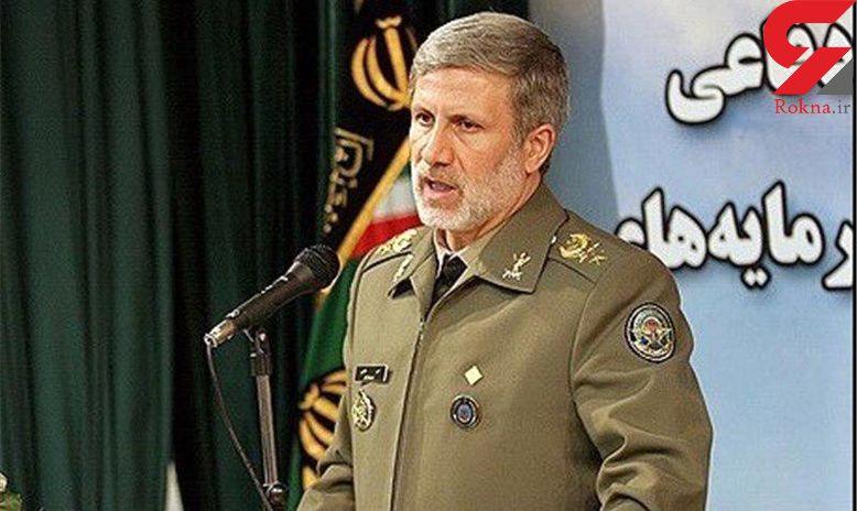 وزیر دفاع: نیروی انسانی عنصر اصلی تولید قدرت بازدارنگی است