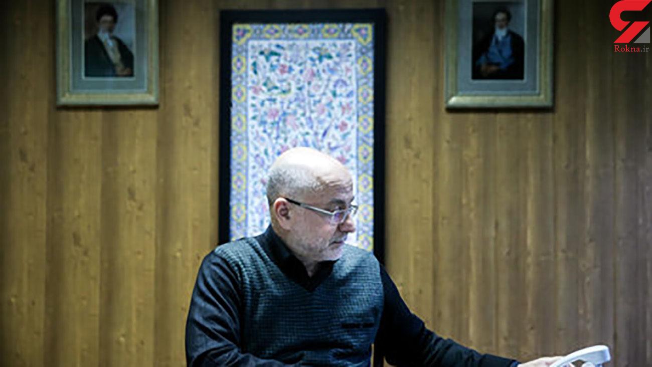 برای علی مرادخانی دعا کنید / بستری در بیمارستان + عکس